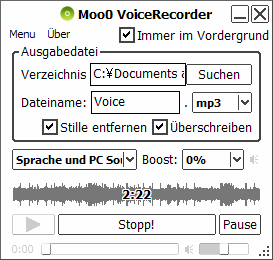 Moo0 Voice Recorder