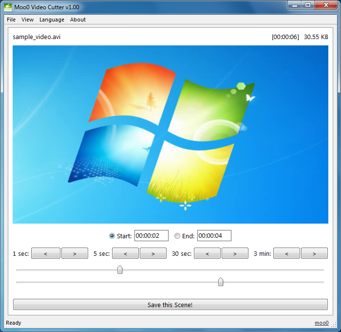 Moo0 Video Cutter (Free) - The Fastest